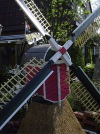 Pink windmill for sale