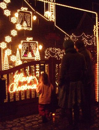 Merelbeke christmas lights
