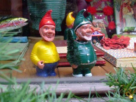 Au bon marché christmas gnomes